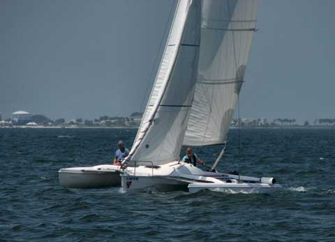 Corsair Sprint 750 Trimaran 2010 Pensacola Florida
