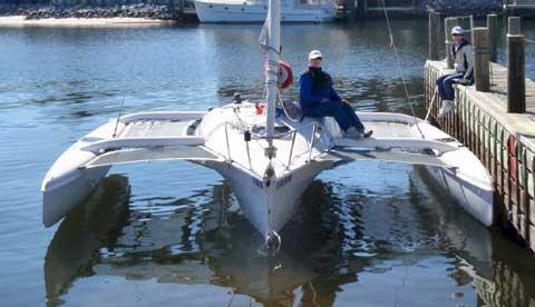 Corsair Sprint 750 Trimaran, 2010 sailboat