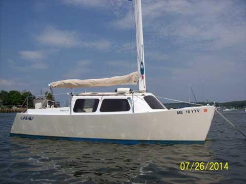 Custom Built Micro Cruising Catamaran 2005 Wiscasset