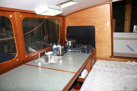 Custom Built Micro Cruising Catamaran, 2005 sailboat