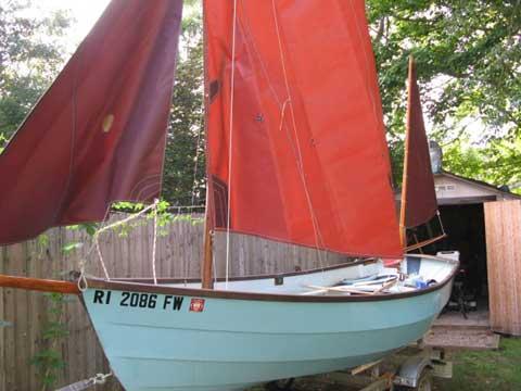 Drascombe Dabber, 1978 sailboat