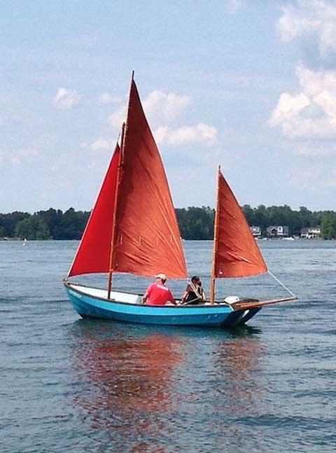 Drascombe Lugger, 1969 sailboat