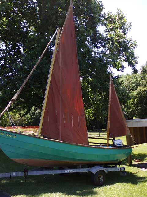 Drascombe Lugger 19, 1986 sailboat
