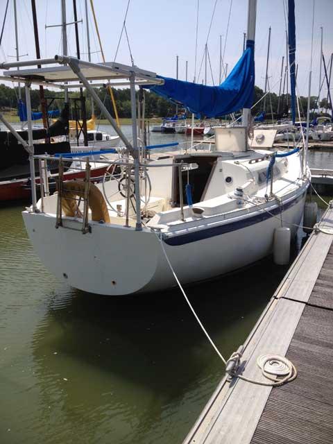 Ericson 29 1977 Dallas Oak Point Texas Sailboat For