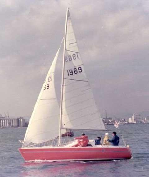 Bruce Farr Design / North Star Build, 1976, 23' sailboat