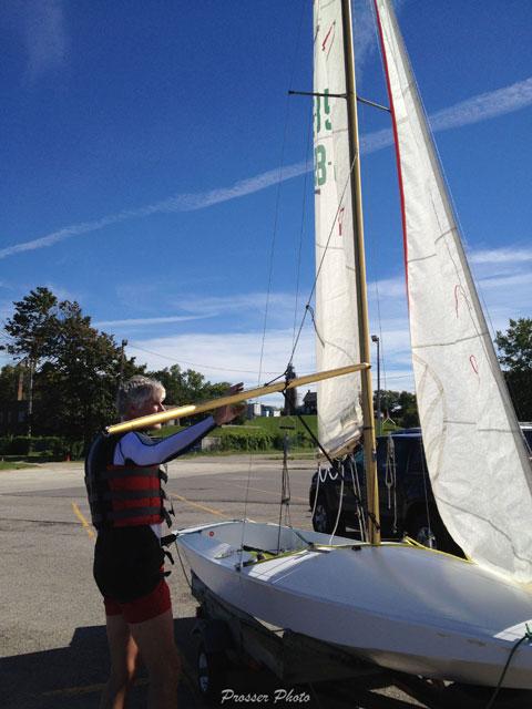 Fireball US 8571 Rondar, 1980s sailboat