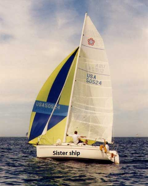 Freedom 24, 1995 sailboat