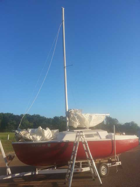 Gulf Coast 21 1972 Tyler Texas Sailboat For Sale From Sailing Texas Yacht For Sale