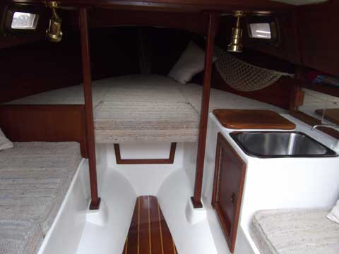 Halman 21, 1988 sailboat