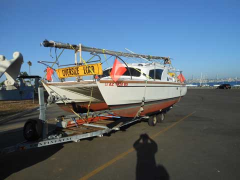 Hirondelle Catamaran, 1976 sailboat