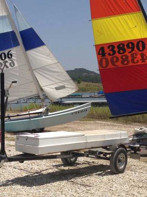 Hobie Cat 14 Turbo, 1983 sailboat