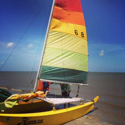 Hobie 16 Catamaran, 1979 sailboat