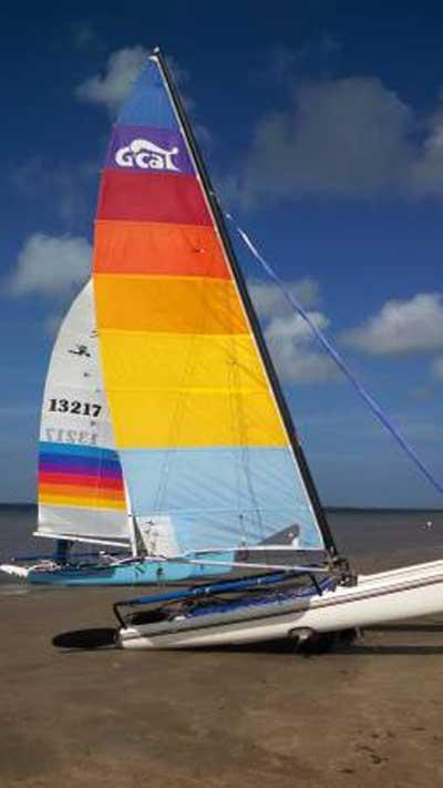 Hobie Cat 17, 1986 sailboat