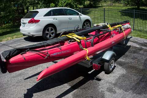 Hobie Tandem Island with Trailer, 2006 sailboat