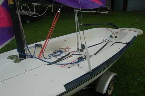 Hobie 405, 1995 sailboat