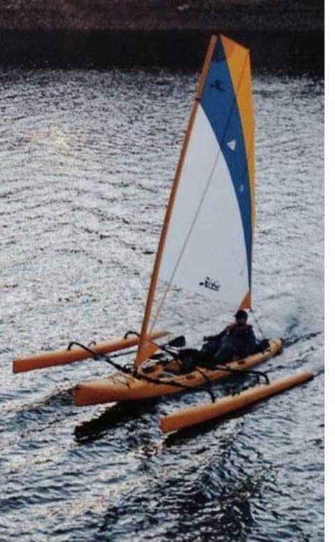 Hobie Mirage Tandem Island, 2013 sailboat