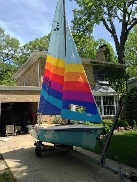 Hobie Holder 14, MkII, 1988 sailboat