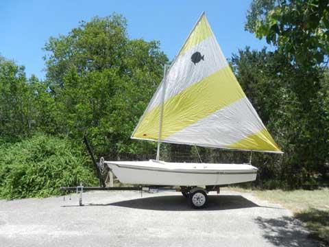 Holder 14, 1980 sailboat
