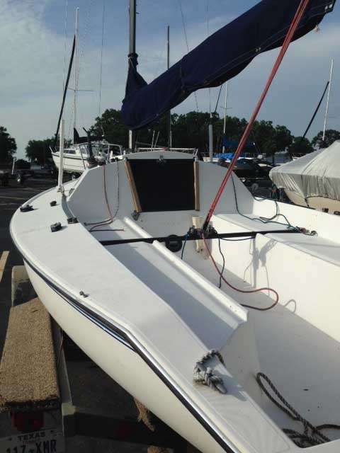 Holder 20, 1987 sailboat