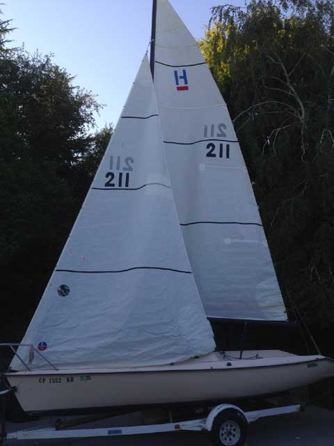 Holder 20, 1985 sailboat