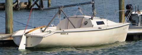 Holder 20, 1985 sailboat