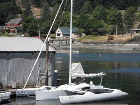Kurt Hughes Trimaran, 28 ft., 1997 sailboat