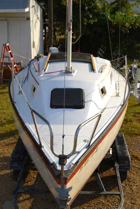 Hunter 22 1983 Lewisville Texas Sailboat For Sale From