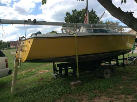 Hunter 23, 1986 sailboat