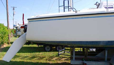 Hunter 23 Wing Keel 1987 Lewisville Texas Sailboat For