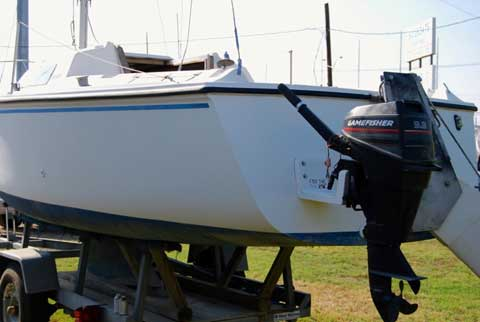 Hunter 23 wing keel, 1987 sailboat