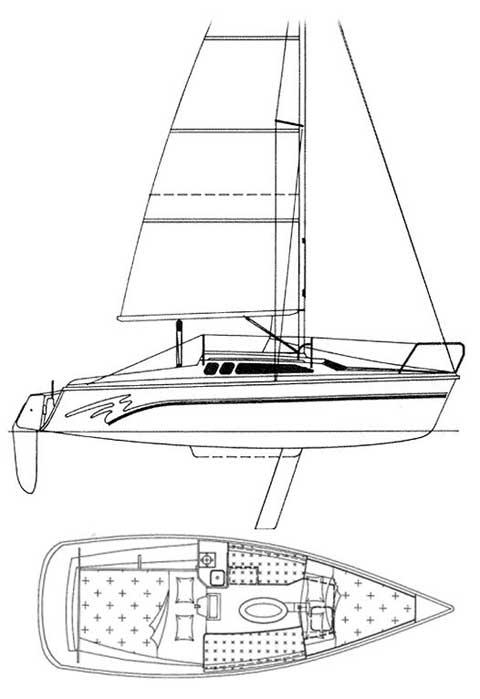 Hunter 23.5, 1995 sailboat