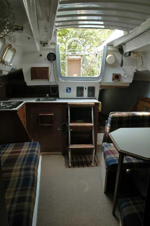 hunter 25 5  1986  lake hefner  oklahoma  sailboat for