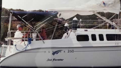 Hunter 260, 2001 sailboat