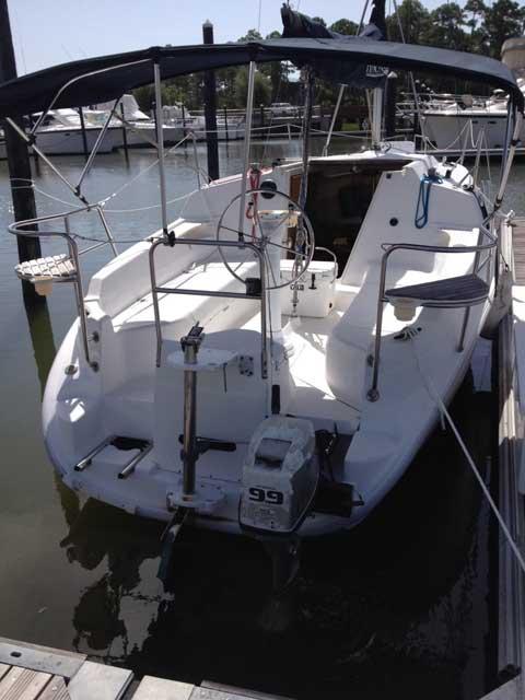 Hunter 260 1999 Orange Beach Alabama Sailboat For Sale From Sailing Texas Yacht For Sale