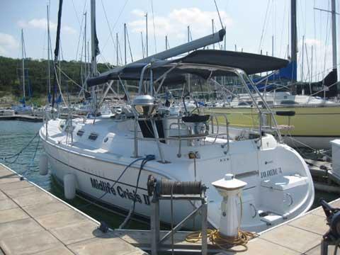 Hunter 356, 2002 sailboat