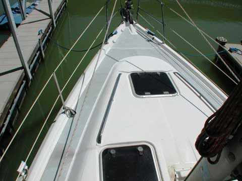 Hunter 380 1999 Lake Lewisville Texas Sailboat For Sale