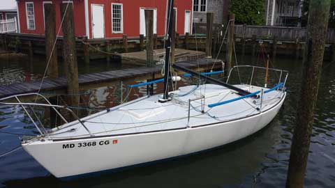 J24 For Sale >> J24 1979 Maryland Sailboat For Sale From Sailing Texas Yacht For