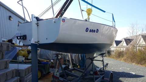 J24, 1979 sailboat