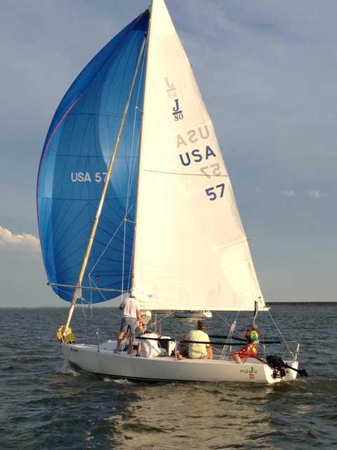 J-80, 1994 sailboat