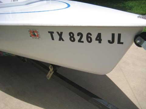 JY15, 2001 sailboat