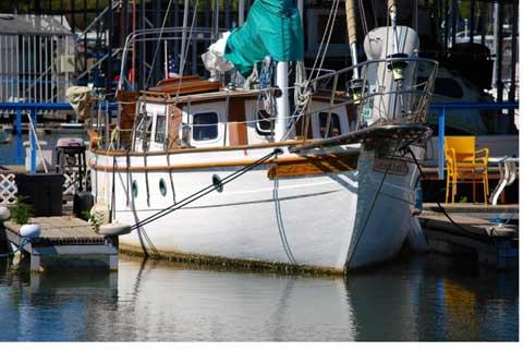 Landfall 39 Pilot House, 1981 sailboat
