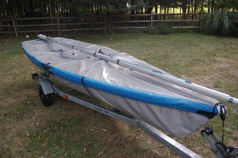 Laser II, 2005 sailboat