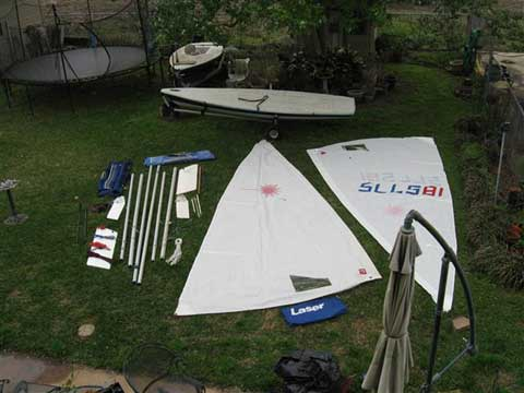 Laser Pro, 2006 sailboat