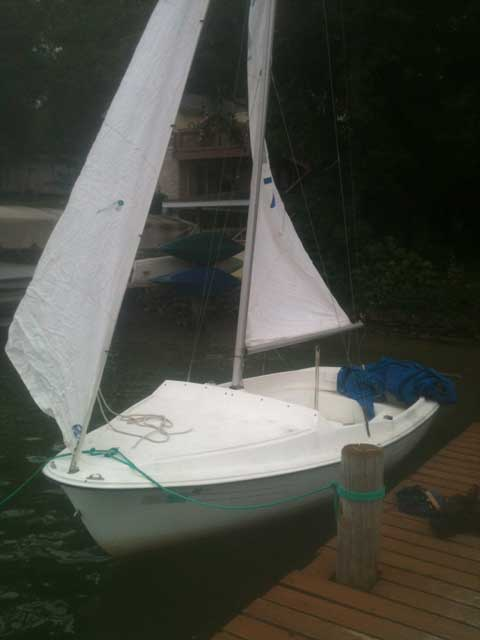 Link Leisure, 17 ft, 1977 sailboat