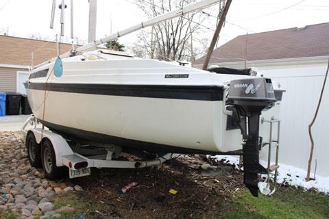 Macgregor 26 S, 1992 sailboat