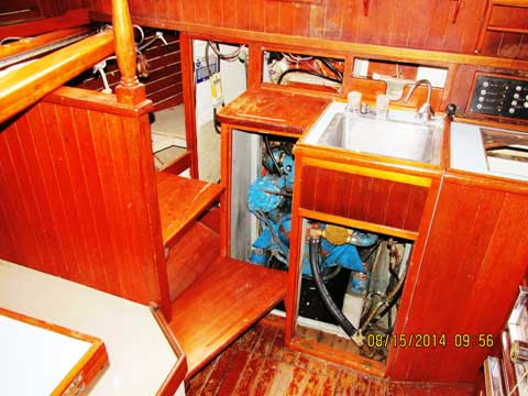Mariner 31 sailboat