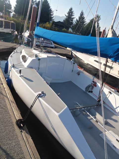 Martin 241 Racing Sailboat, 1977 sailboat