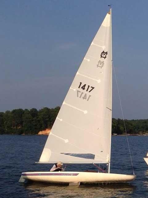 Melges MC Scow, 1992 sailboat