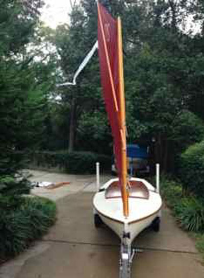 Crawford Melonseed Skiff, 2002 sailboat