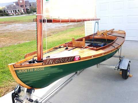 Melonseed skiff, 2009 sailboat